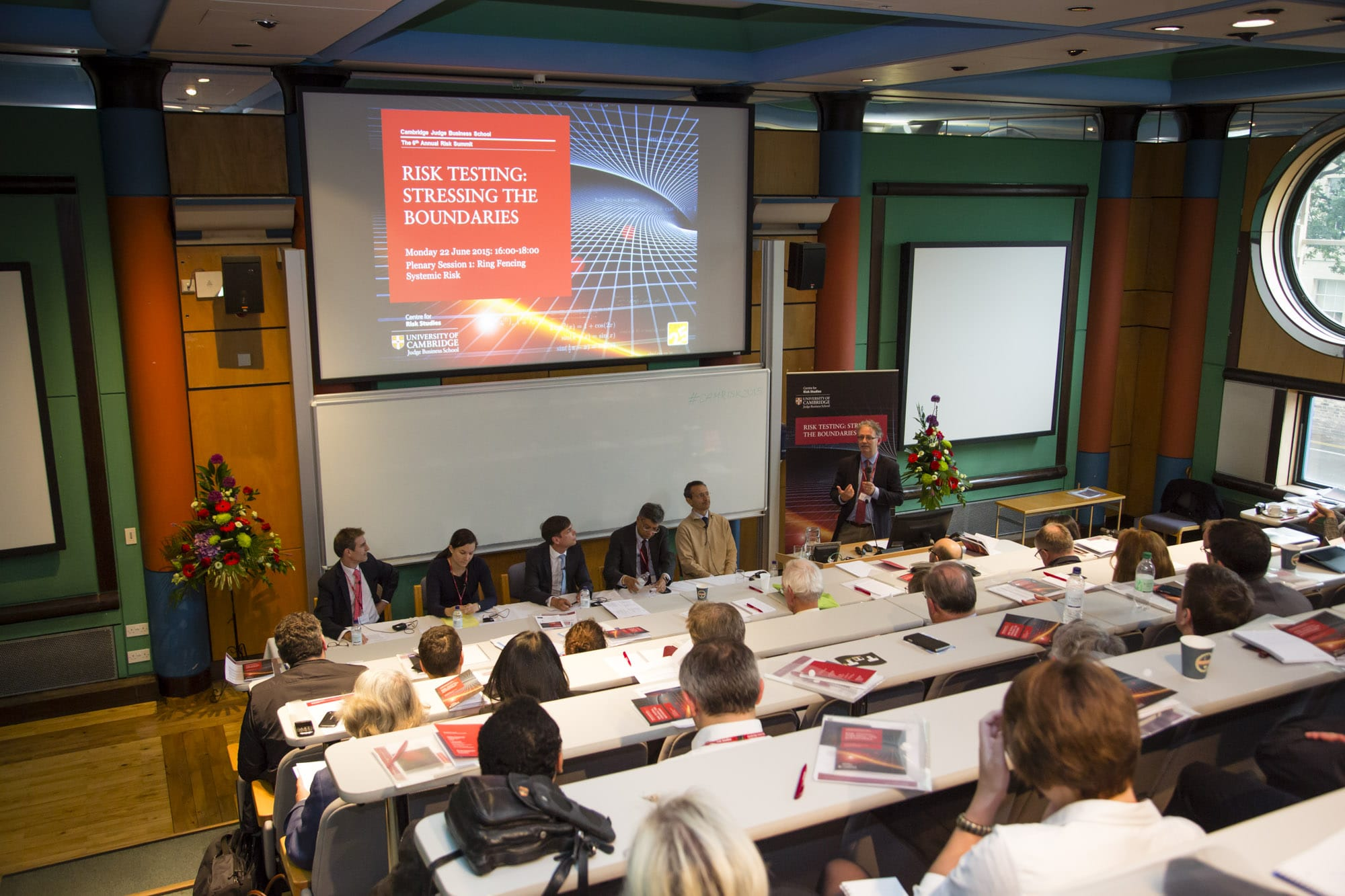 Conference Photography Cambridge at Judge Business School 2015