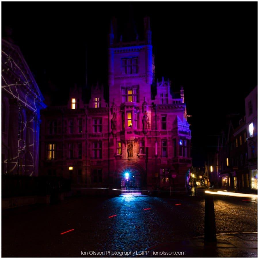 E-Luminate Cambridge 2016 Gonville & Caius College