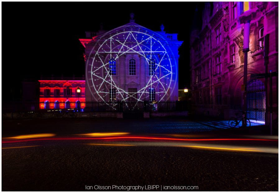 E-Luminate Cambridge 2016 Senate House and Gonville & Caius College